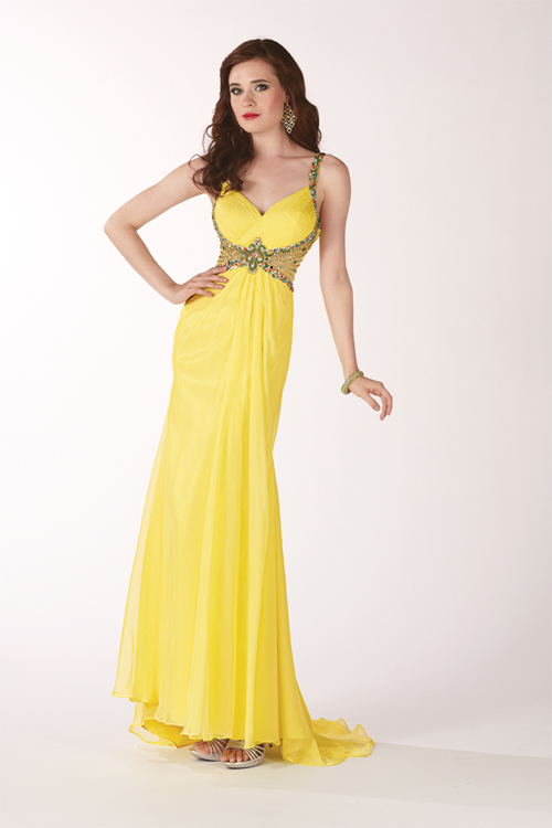 Yellow Evening Dresses 39