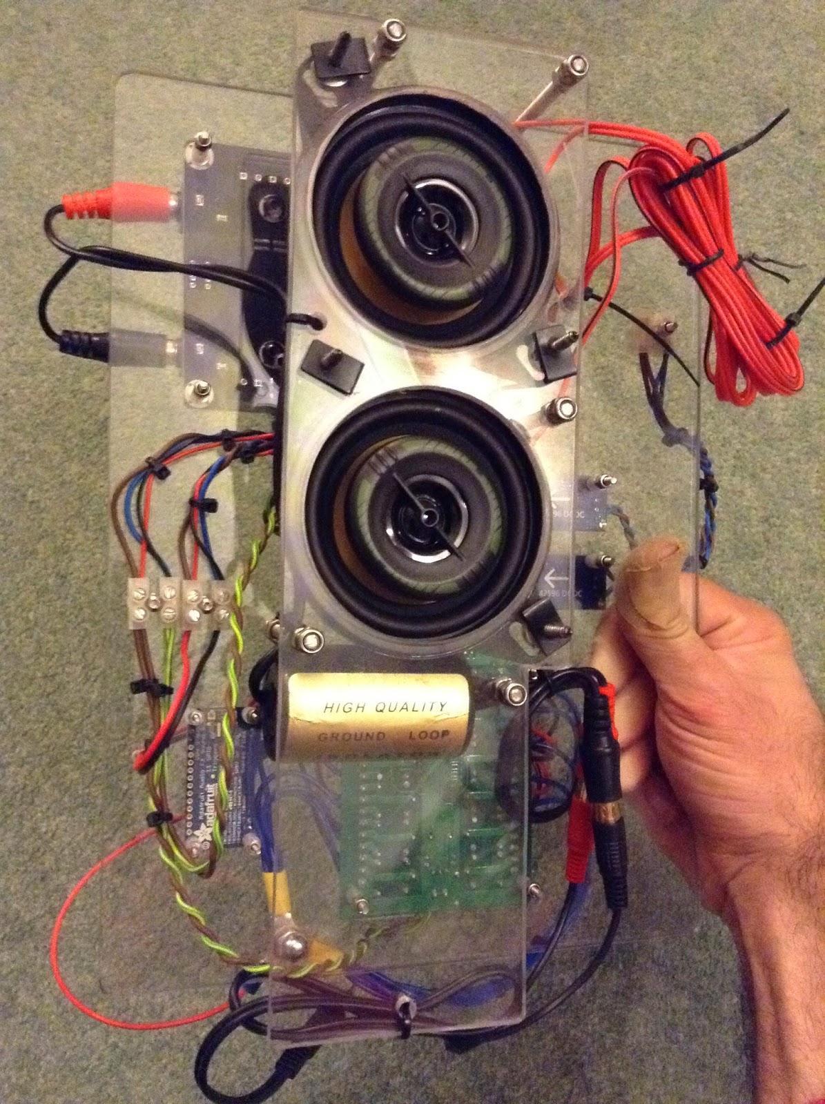 R5-D4 sound system