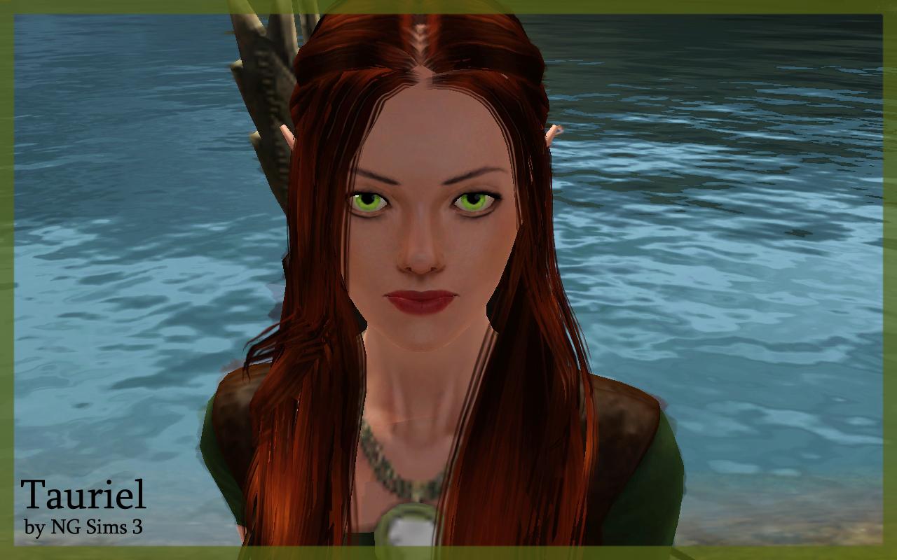 Tauriel Elf Sims