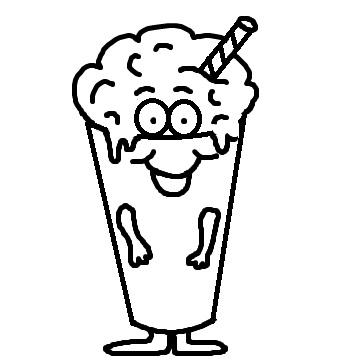 Church House Collection Blog Milkshake Clipart