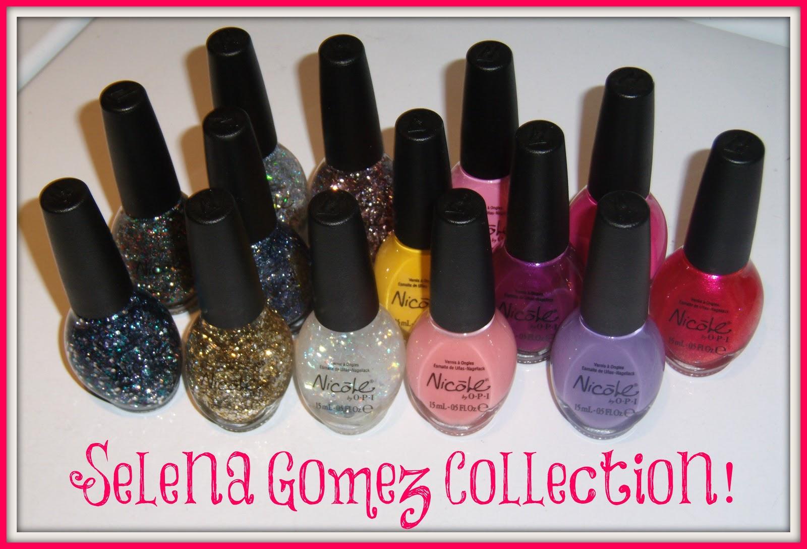 kozmetikbloglari: Nicole by OPI Selena Gomez Collection Nail ...