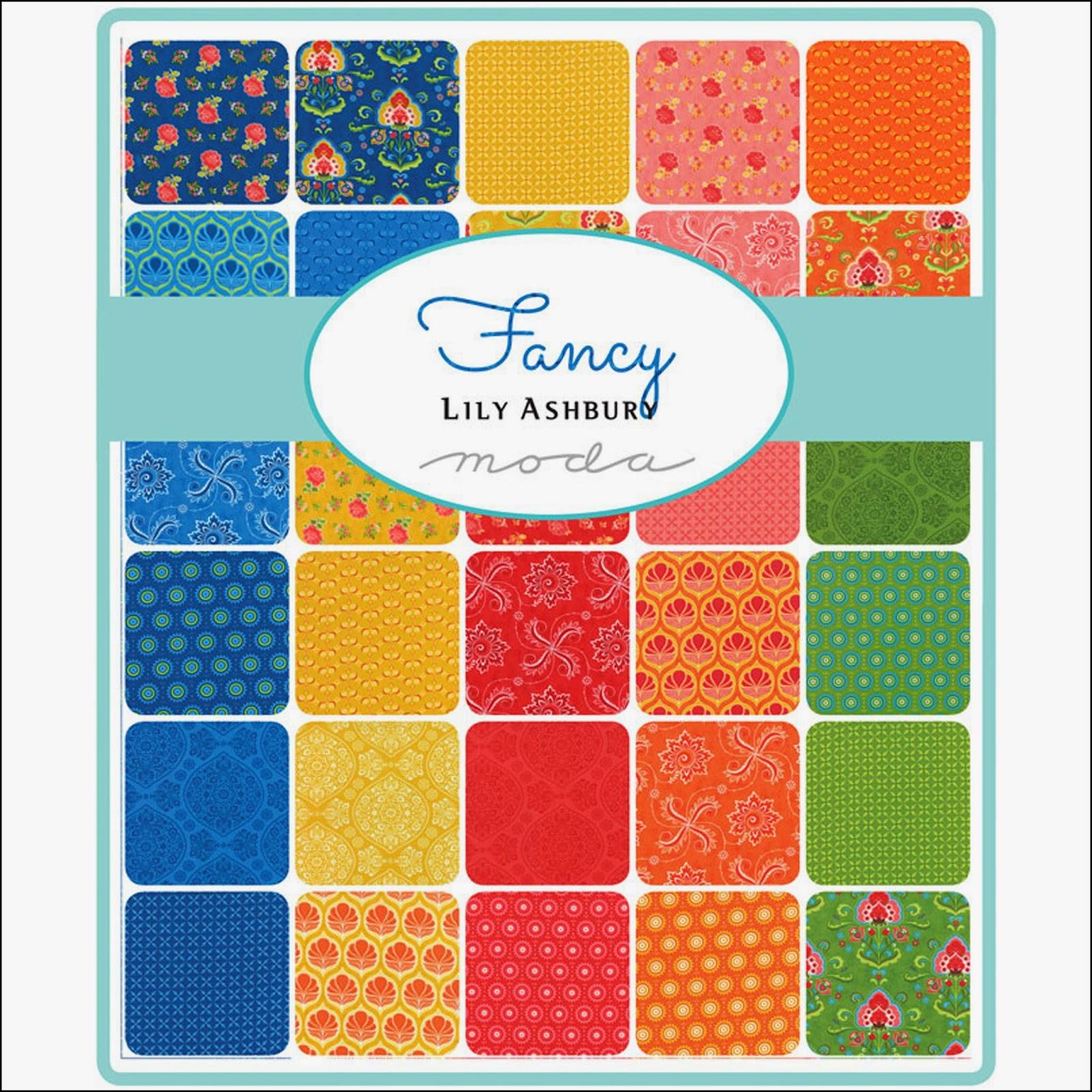 Moda FANCY Quilt Fabric by Lily Ashbury for Moda Fabrics