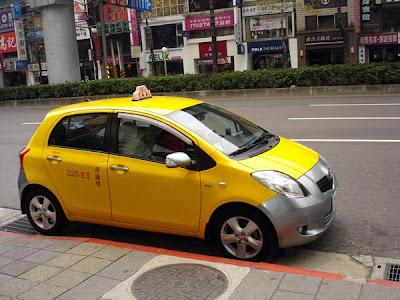 Toyota Yaris taxi