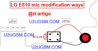 Lg E510 Mic Solution Full Traced Jumper