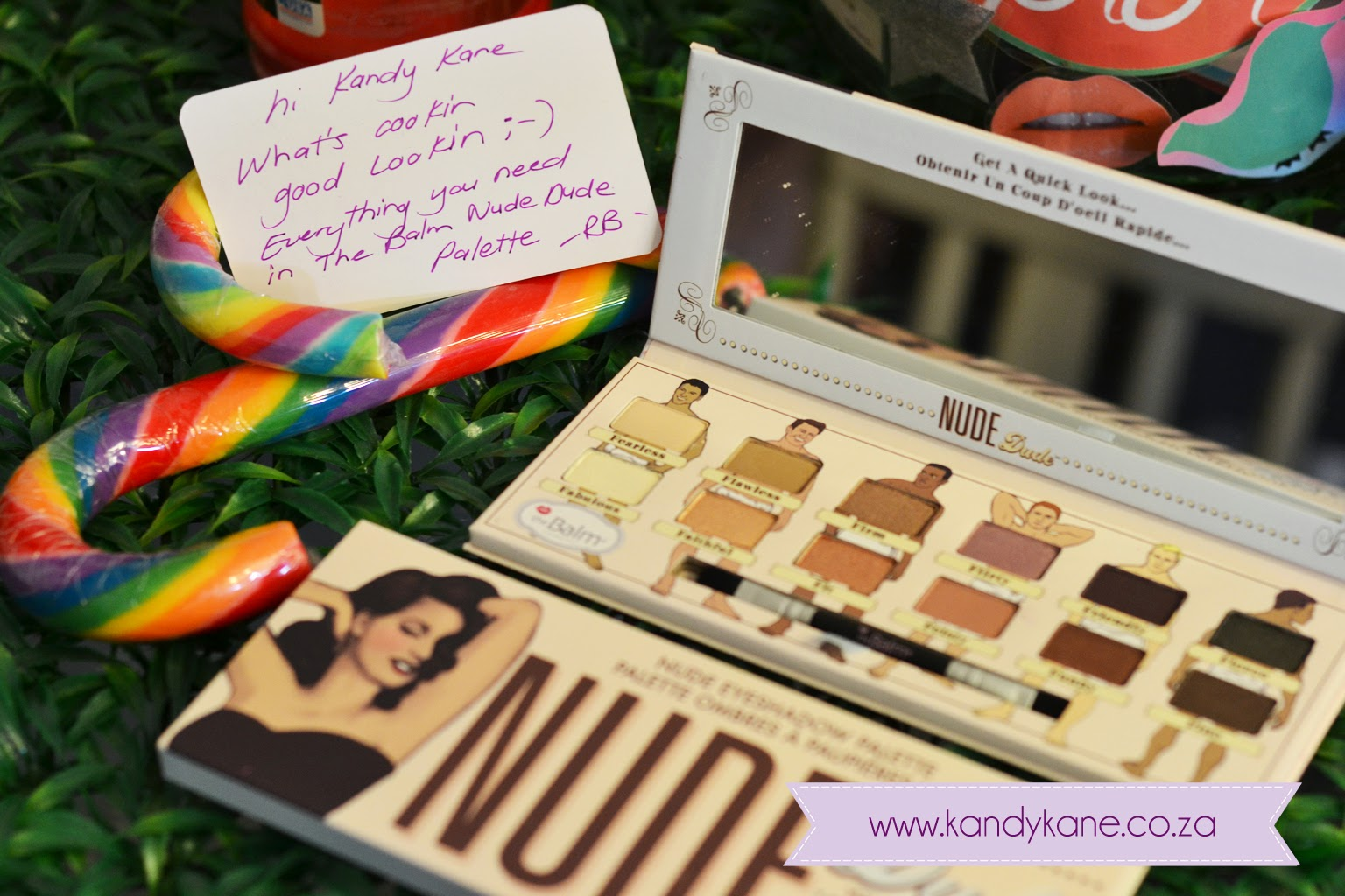 Kandy Kane Makeup Blog Review The Balm U0026quot;Nudeu0026quot; Palettes (from Retailbox.co.za)