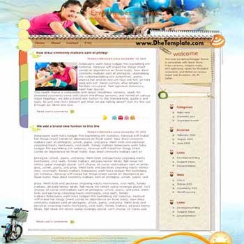 Wish U Good blogger template. converted WordPress to Blogger template. sport template blog