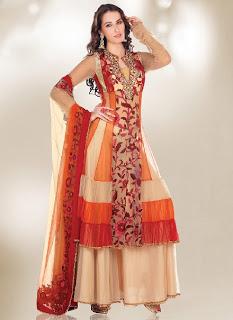 Pakistani Shalwar Kameez Designs 2013-2014