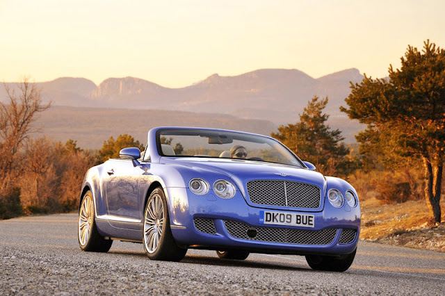 2010 Bentley Continental GTC Speed Front Exterior