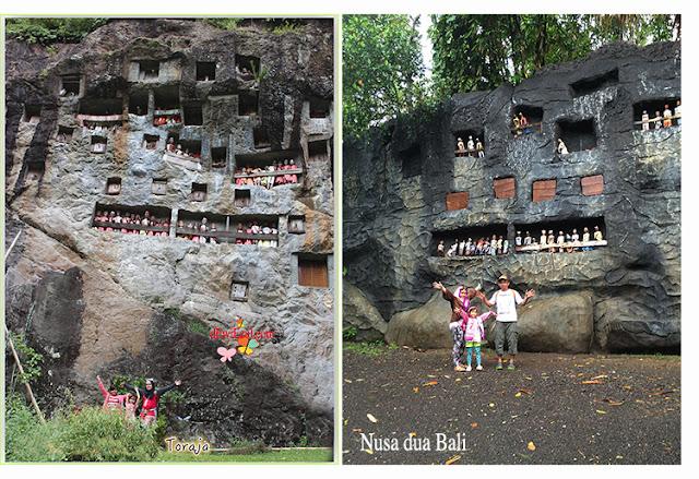 Toraja VS Taman Mini Nusa dua Bali