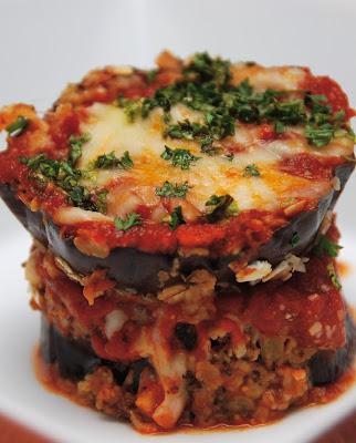 oven baked eggplant lasagna