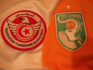 Túnez y Costa de Marfil, escudos