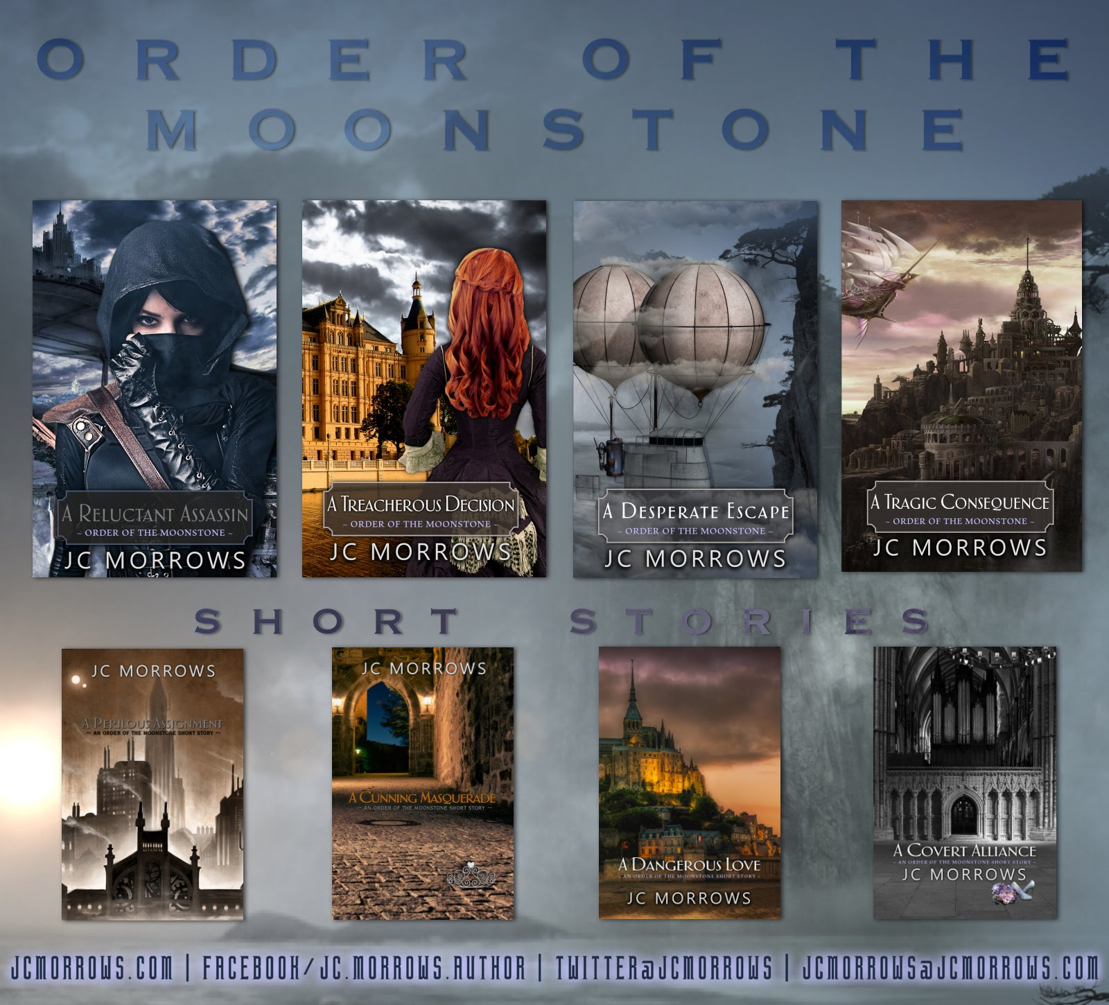 Order of the Moonstone series