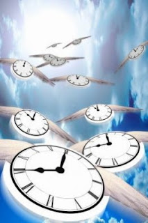 Clocks on the wing ... all we are is clocks on the wing