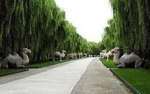 Image result for ming tombs sacred way