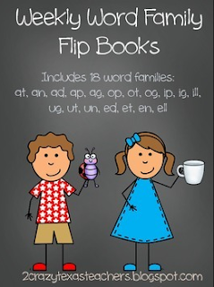 https://www.teacherspayteachers.com/Product/Word-Family-Flip-Books-1961515