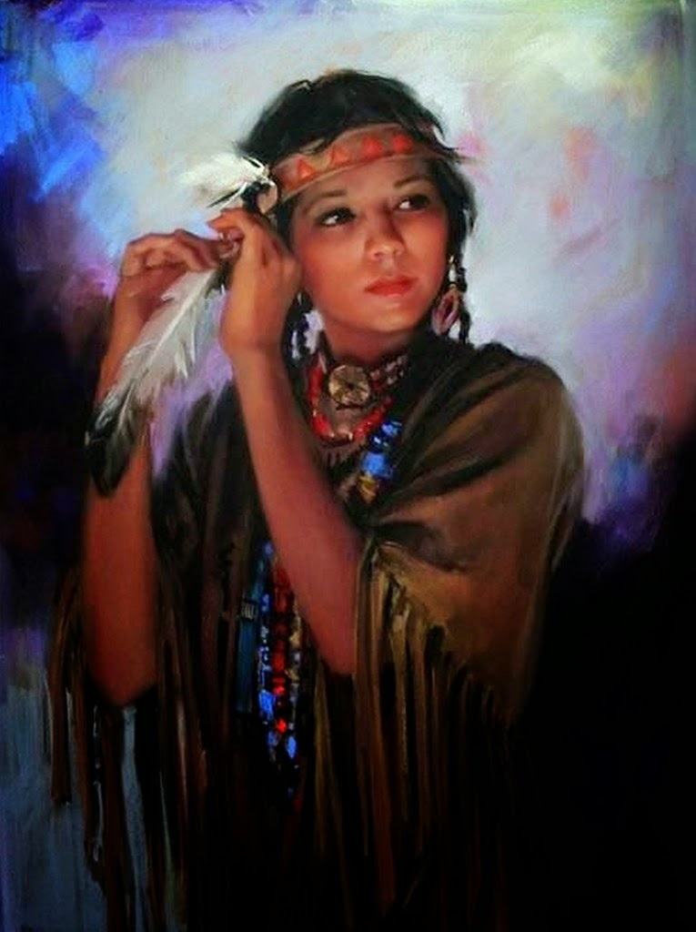 mujeres-indigenas-pinturas