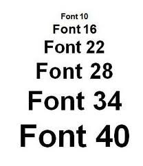 Font Size SEO On Page