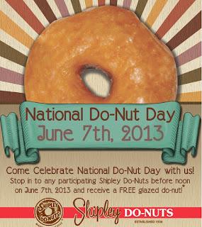 free Shipley do-nuts