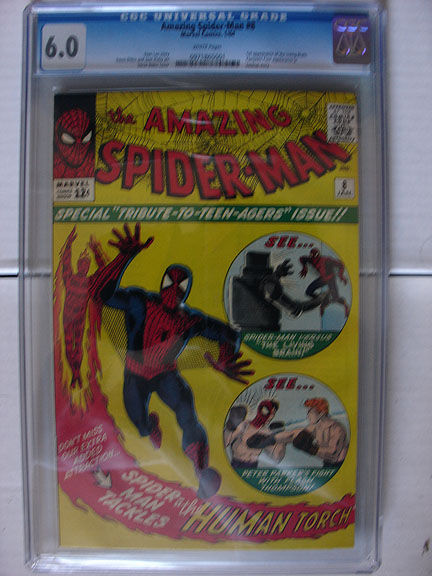 Amazing Spider-Man #8 CGC 6.0 image