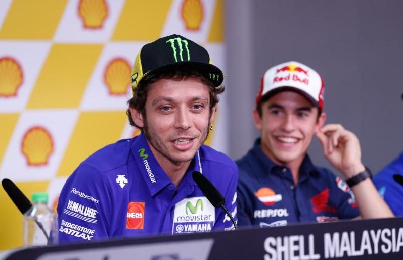 Rossi dan Marc