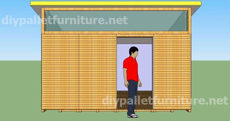 Planos y video para hacer una casa con palets 3 de 3 - Hacer plano casa ...