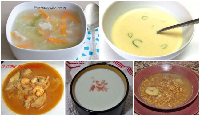 Recetas Caseras de Sopas Frías y Calientes