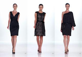 Vestidos Kathy Hilton 2012 negro
