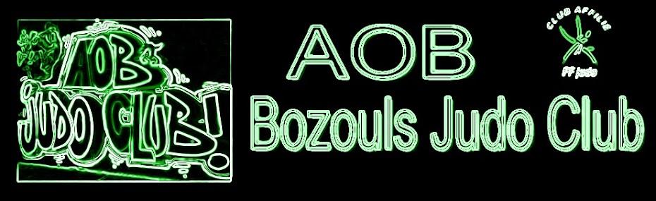 AOB BOZOULS JUDO CLUB