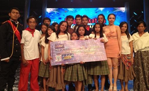 Agravante Family from Laguna wins P1 million pesos