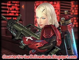 Download Metal Arena Alice Red from Counter Strike Online Character Skin for Counter Strike 1.6 and Condition Zero | Counter Strike Skin | Skin Counter Strike | Counter Strike Skins | Skins Counter Strike