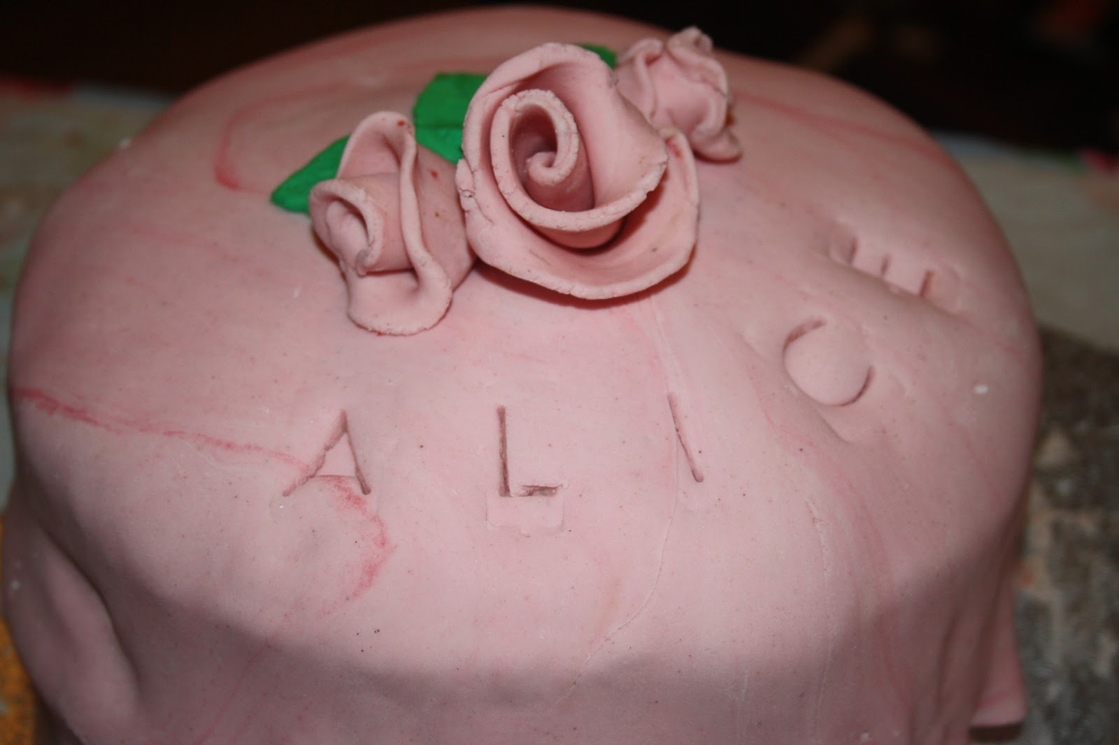Caroline Makes Vegan Strawberry Rose Birthday Cake
