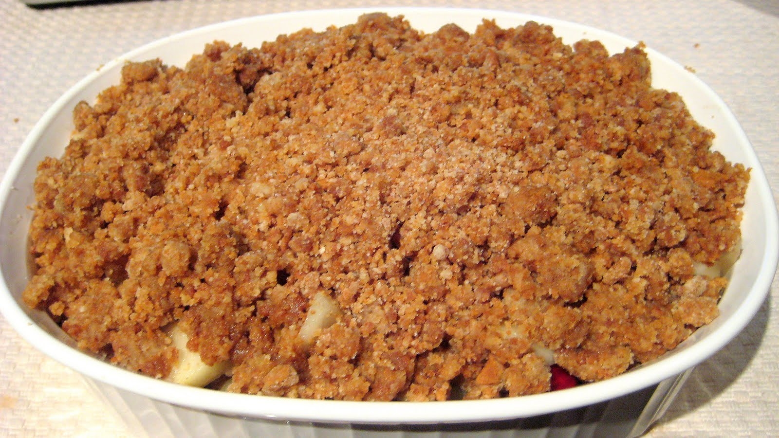 Pear Cranberry And Gingersnap Crumble Recipes — Dishmaps