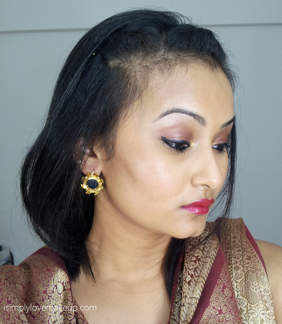 Lakme 9to5 Eye Color Quartet Tanjore Rush Makeup