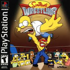 Super Compactado Simpson's Wrestling, The PS1