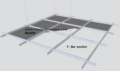 Hệ thống khung trần & tấm xi măng cemboard