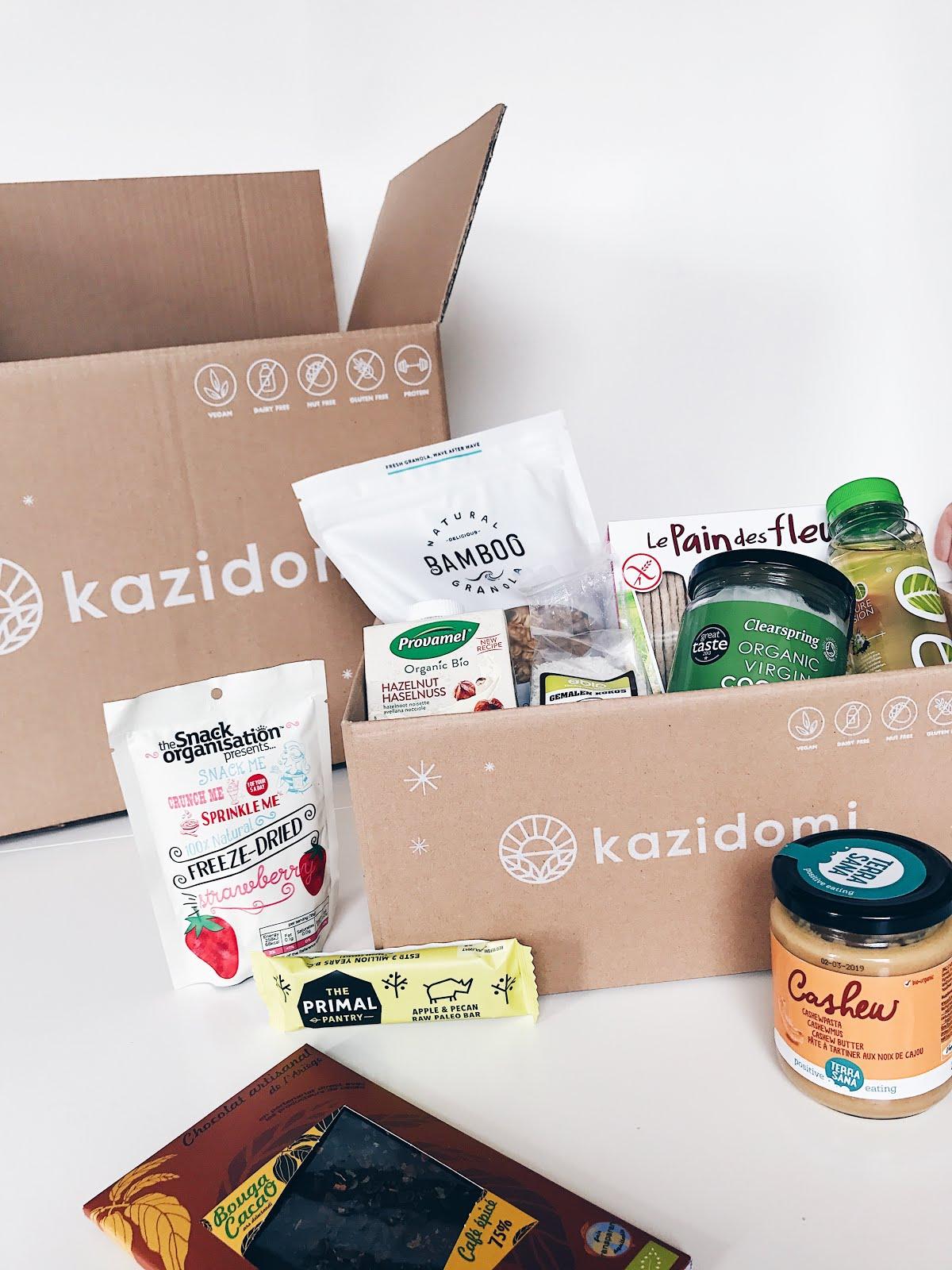 Kazidomi: l'eshop de produits sains, Réduction de 20€ sur l'abonnement avec le code ALESSA