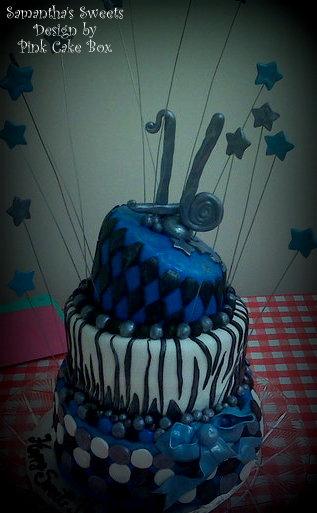 Samantha S Sweets And Sam S Sweet Art Birthday Cake Photo
