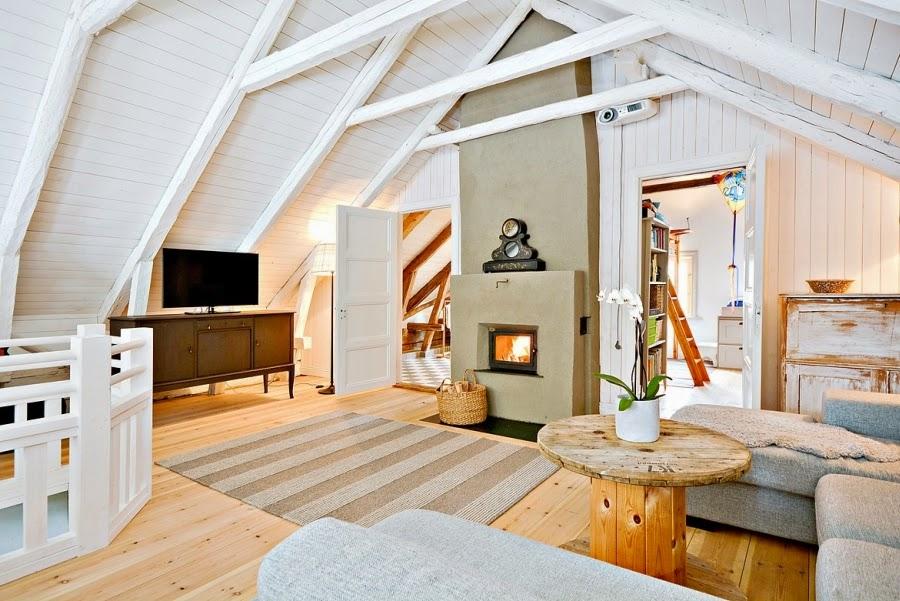 wystrój wnętrz, wnętrza, urządzanie mieszkania, dom, home decor, dekoracje, aranżacje, styl skandynawski, białe wnętrza, skandynawski, drewniany domek, salon