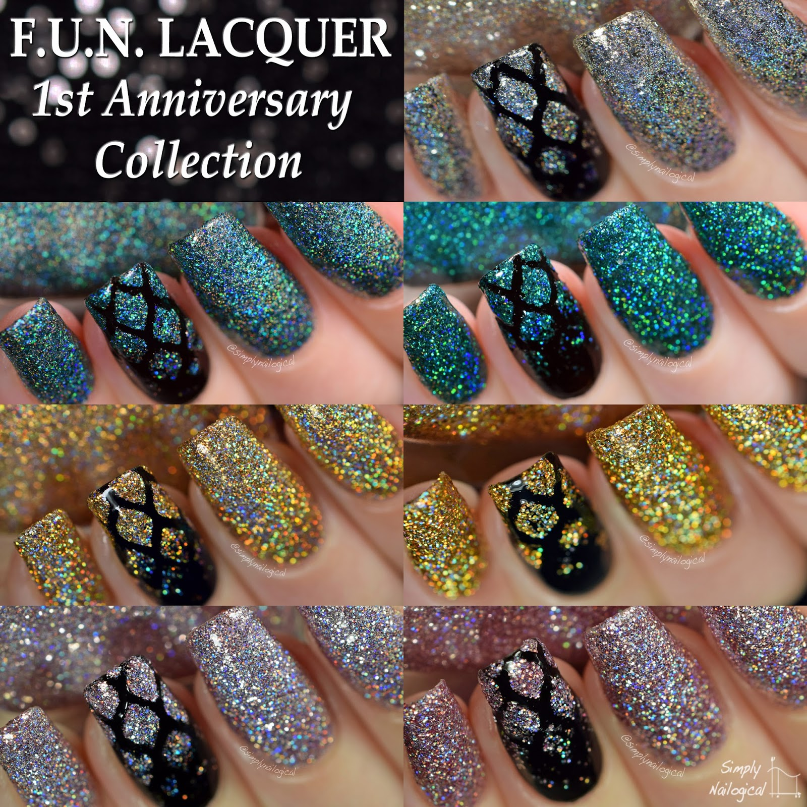 FUN Lacquer - 1st Anniversary Collection