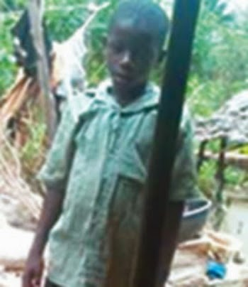 man throws son into well abia