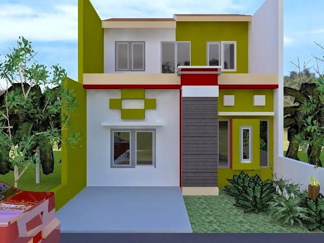 Cat Rumah Minimalis Modern 2014