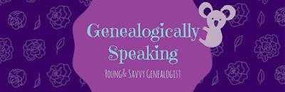 Genealogically Speaking