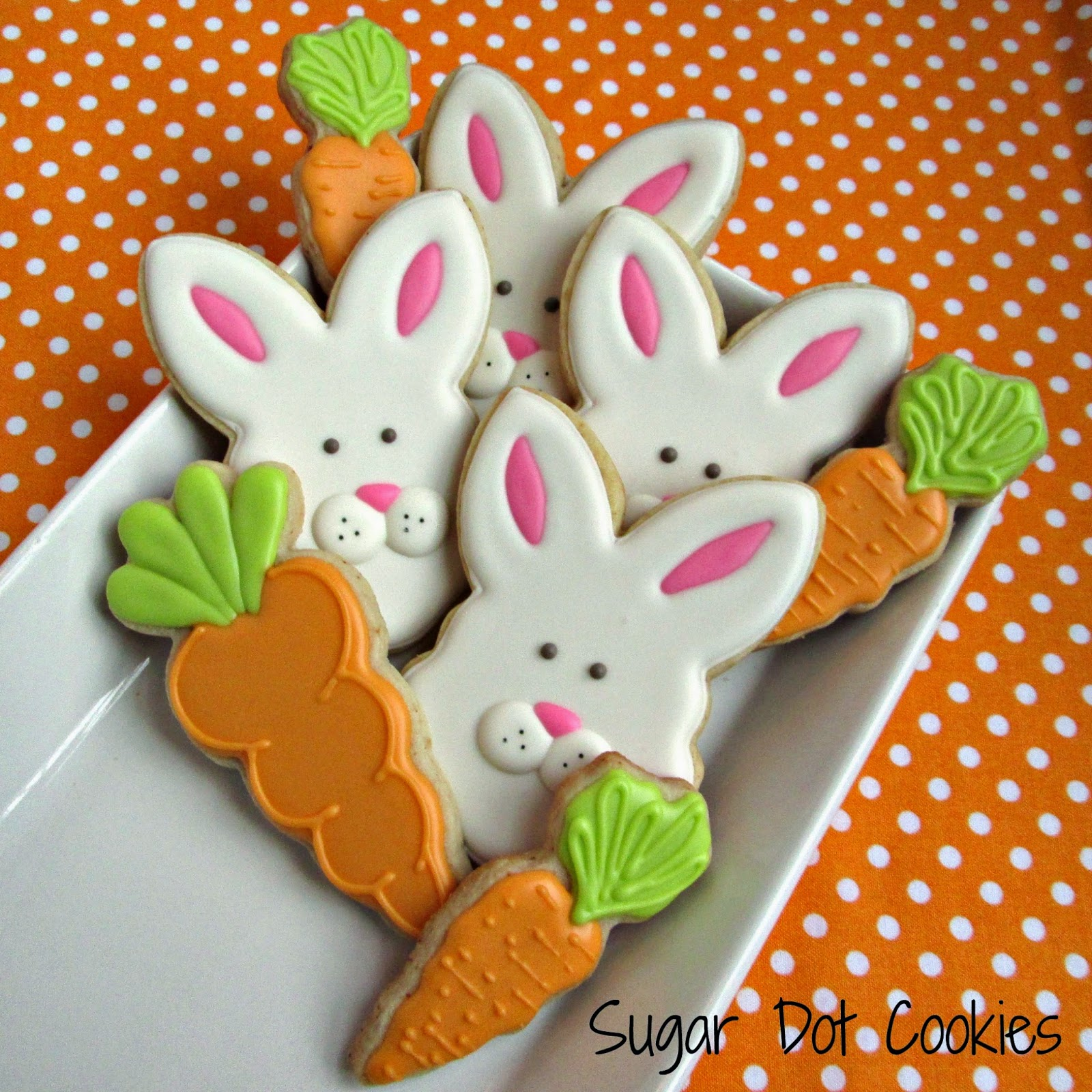 Ryland: sugar+cookies+decorated+royal+icing+bunny+carrot+easter ...