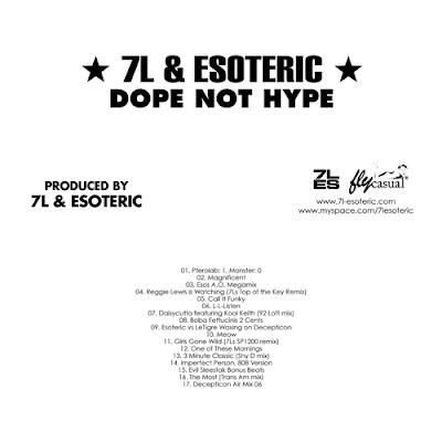 7L & Esoteric – Dope Not Hype (CD) (2006) (VBR V2)
