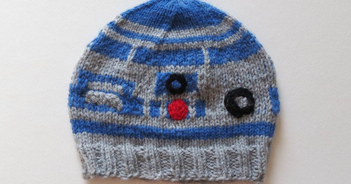 Knitting Pattern For R2d2 Hat : Collective Individual: The R2-D2 Beanie
