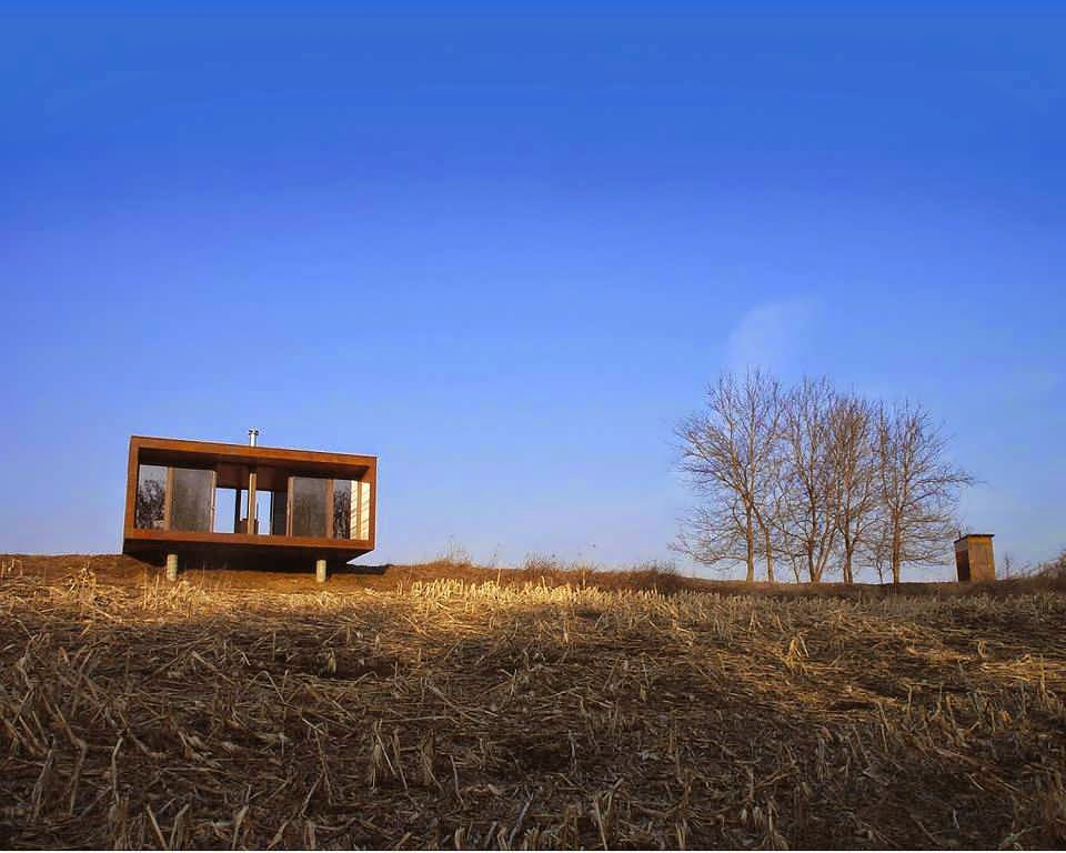 Minimalist Cabin cabin is like container minimalist house design with combine
