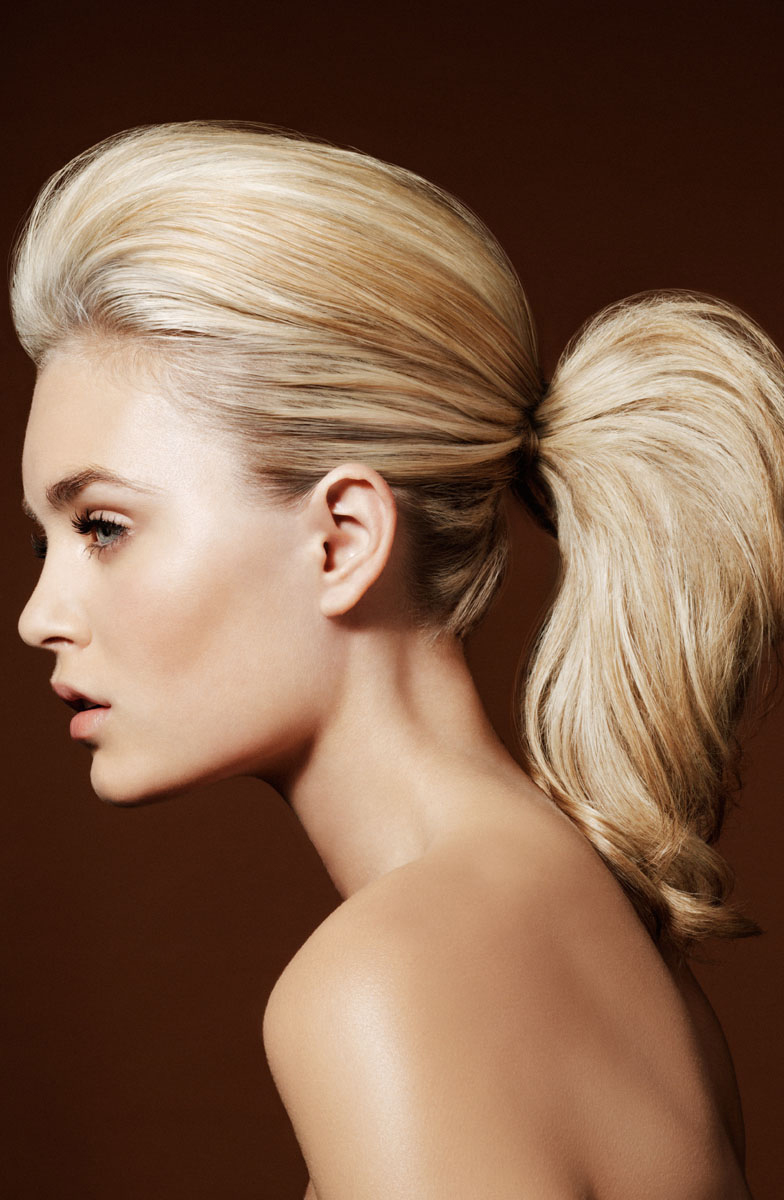 How to create the perfect pony tail and side bun hair styles - video tutorials