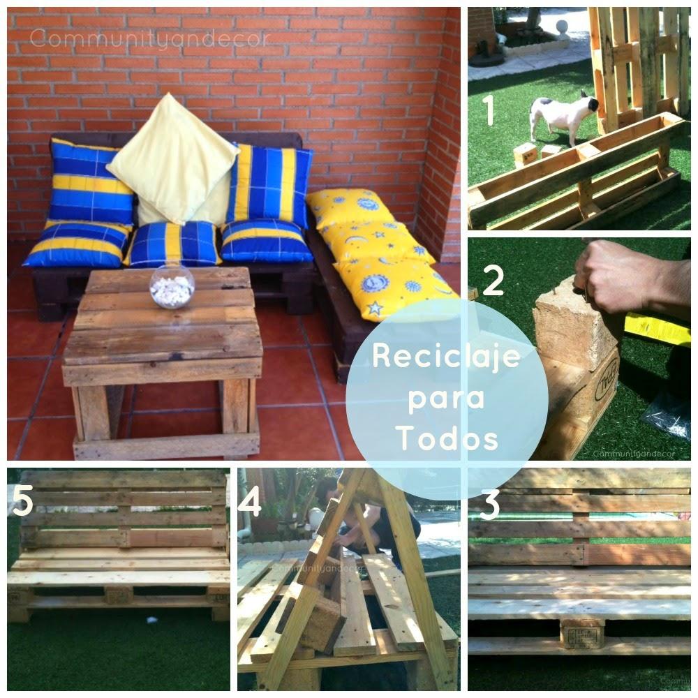 Tutorial 6 pasos para crear un sillon de palets para el jardin