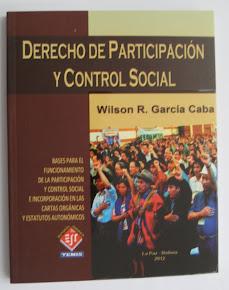 DERECHO DE PARTICIPACION Y CONTROL SOCIAL