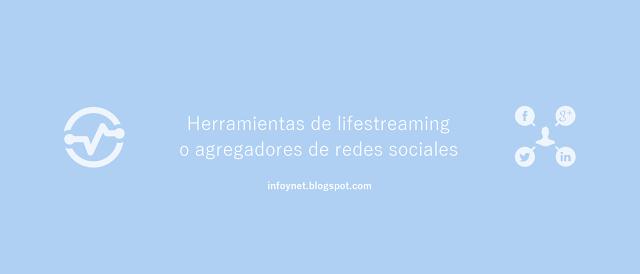 Herramientas de lifestreaming o agregadores de redes sociales